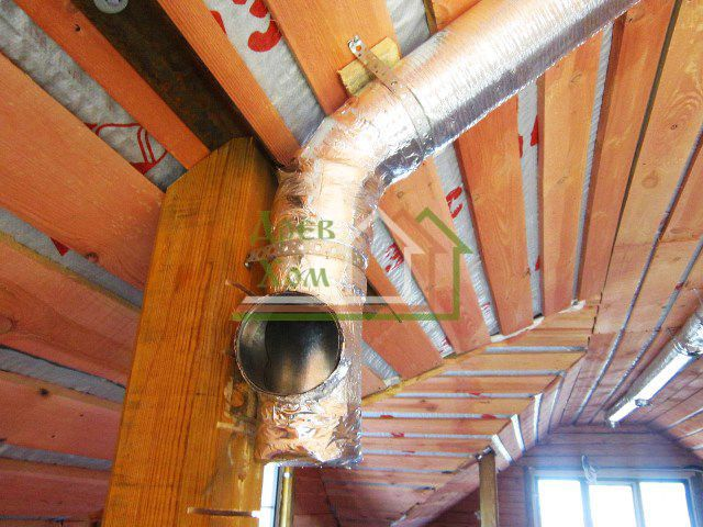 Как делать вентиляцию в деревянном доме своими руками